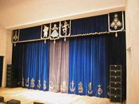 Оборудование сцены и сценической площадки. Театральные занавесы e767be4ee99e1